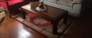 Juego de mesas en madera maciza - Chía