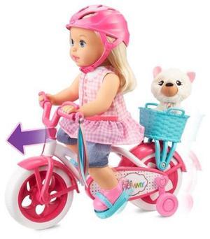 Little Mommy En Bicicleta Original De Mattel