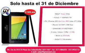Gran oferta de Tablet Touch - Riosucio