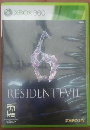 Juego Resident Evil 6 Xbox 360 Original