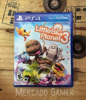 Little Big Planet 3 Usado Ps4