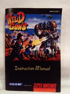 Super Nintendo Manuales Reproducción