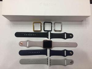 Apple Watch serie 1, con varias correas incluidas -