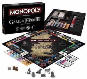 Game Of Thrones Monopoly Edición De Lujo Envio Gratis