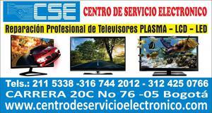 REPARACION DE TELEVISORES. REVISION SIN COSTO: PLASMA LCD