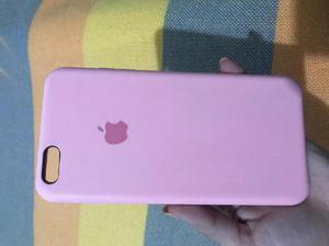 SILICONE CASE Original rosado para iPhone 6Plus o 6s Plus -