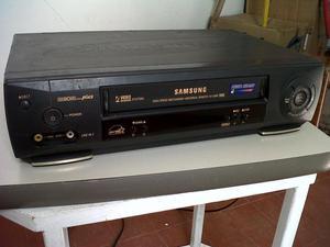 VHS SAMSUNG FUNCIONAL SIN CONTROL RETRO VINTAGE