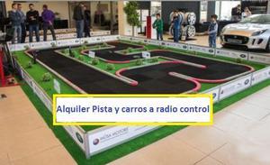 Alquiler de pista y carros a control remoto