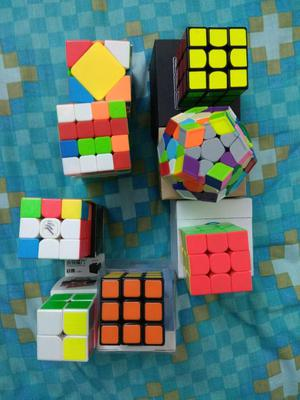 Colección de Cubos Rubik Originales