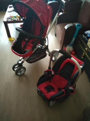 Combo de coche y cápsula silla para carro de bebé Bebesit