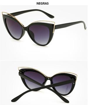 Gafas De Sol Mujer Ojo De Gato Uv  Colores
