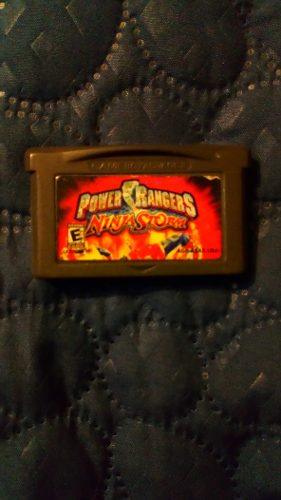 Game Boy Advance Power Rangers Ninja Storm