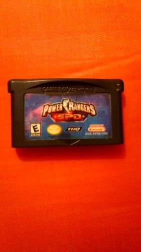 Game Boy Advance Power Rangers Spd