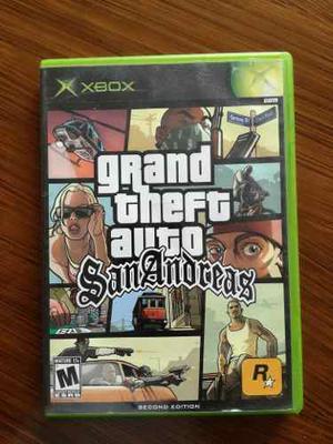 Grand Theft Auto San Andreas Para Xbox Clásico