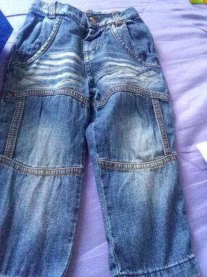 Jeans para Niños Talla 12 Y 18 Meses