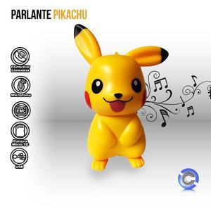 Parlante Pikachu Bluetooth Micro Sd Usb