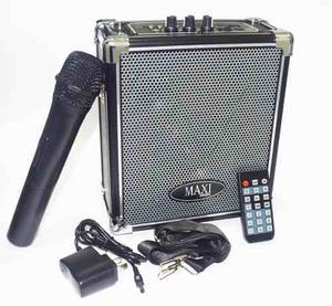 Parlante Portátil Amplificador Bluetooth Maxi Mh-70bt