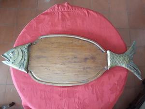 Tabla de queso en forma de pez
