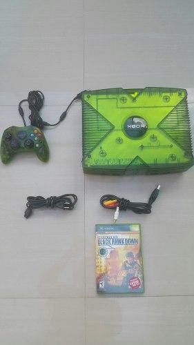 Xbox Clasico Edicion Halo Poco Uso