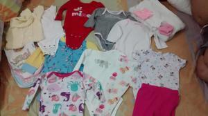 lote ropa de bebe niña usada de 6 a 12 meses