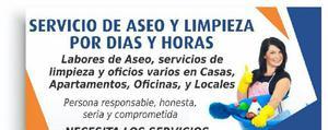 Aseo Y Limpieza X Horas Y Dias - Cúcuta