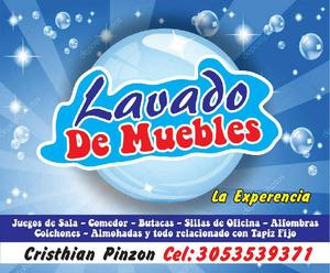 Lavado de Muebles - Villavicencio