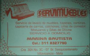 Servicio Lavado Muebles - Restrepo