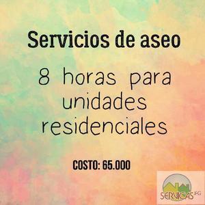 Servicio de Aseo Servicas - Bogotá