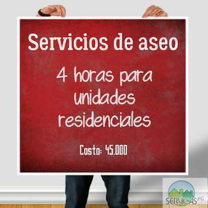 Servicios de Aseo Servicas - Bogotá