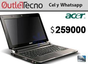 Portatil Acer One mini D270 Intel atom 1.6 2GB DDRGB