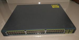 SWITCH CISCO GS 48 PUERTOS  PoE 4 SFP APILAB