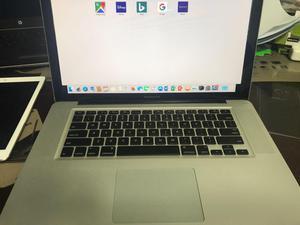 macbook pro 15 core igb 8 RAM, como nuevo, comprado en