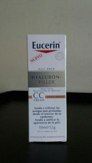 Crema Anti Edad de Eucerin.