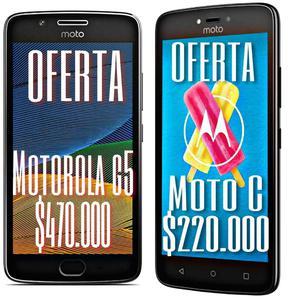 Moto G5 Y Moto C Nuevos Y Garantizados