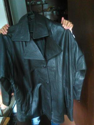 chaqueta en puro cuero hombre