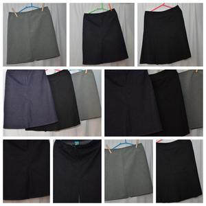 faldas y vestido