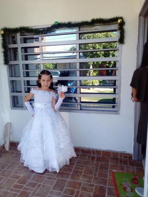 se vende vestido de primera comunión $ inf