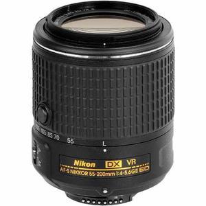 Lente Nikon 55-200 F/4-5.6g If Ed Vr Ii.