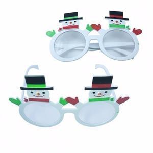 Navidad Gafas Navideñas Mul #1 Medida 10,2x17cm Decorativo
