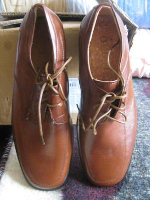zapatos en cuero para hombre talla 40