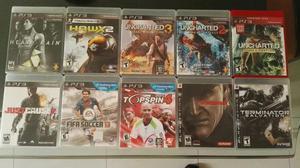 Se Venden Video Juegos Playstation Ps3
