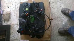 Vendo Xbox Clasico Completo