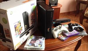 Xbox 360 Slim Chip 5.0 Kinect 2 Controles 30 Juegos