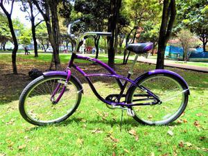 Bicicleta Playera para Mujer en Aluminio