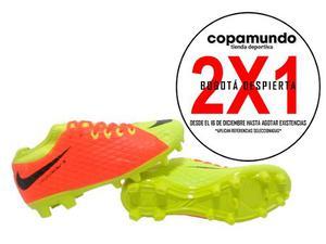 Guayos Grama Nike Hypervenom Niño + Envío Gratis