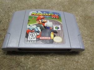 Juego Para Consola Nintendo 64 Mario Kart 64