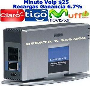 Linksys Pap2 $49.000 Minuto Todo Operador 25 - Bogotá
