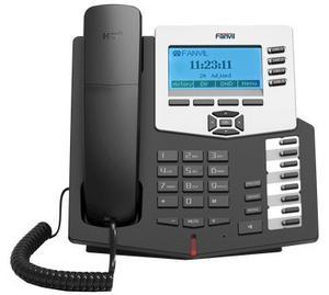 Telefono Ip Fanvil C62 4 Lineas Sip, Poe