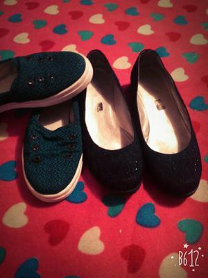 Vendo Dos Pares de Zapatos Talla 36