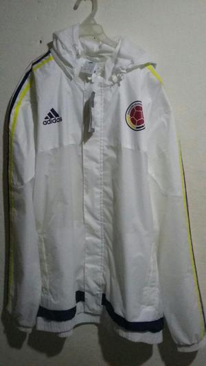 chaqueta impermeable ORIGINAL Sel. Colombia talla XL